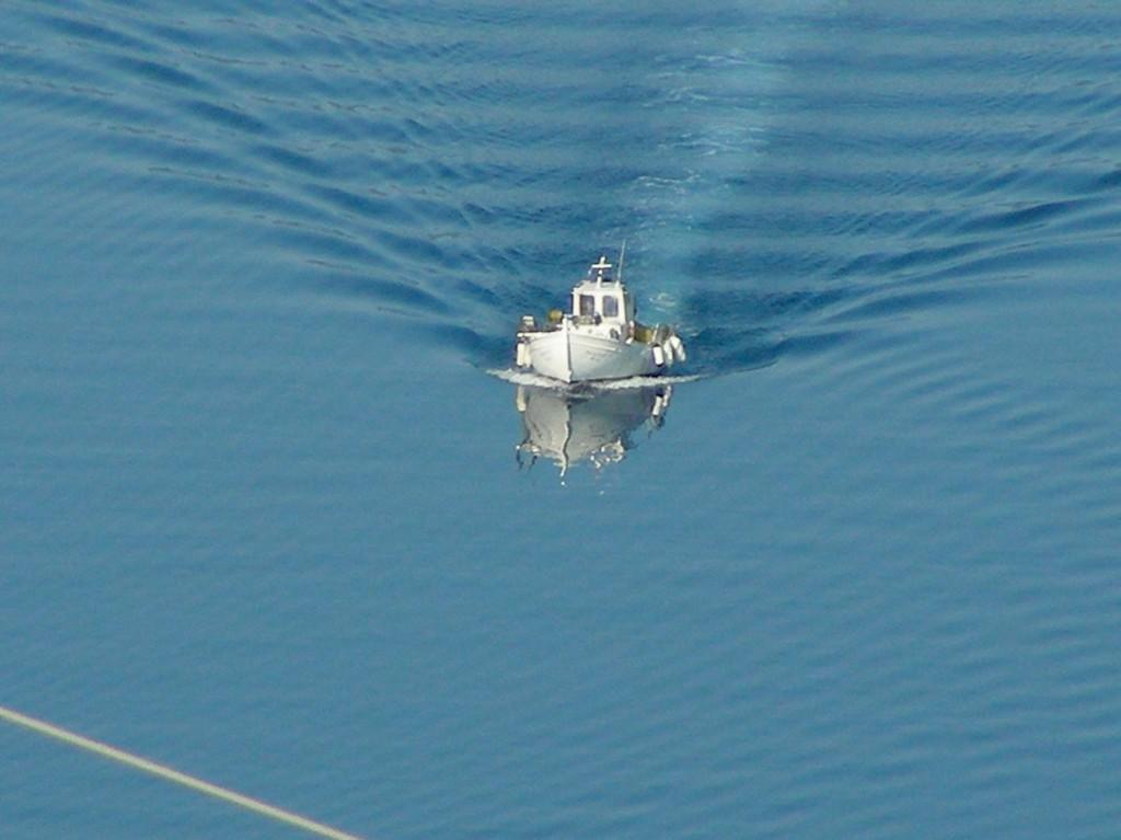 ritorno dalla pesca a Itaca