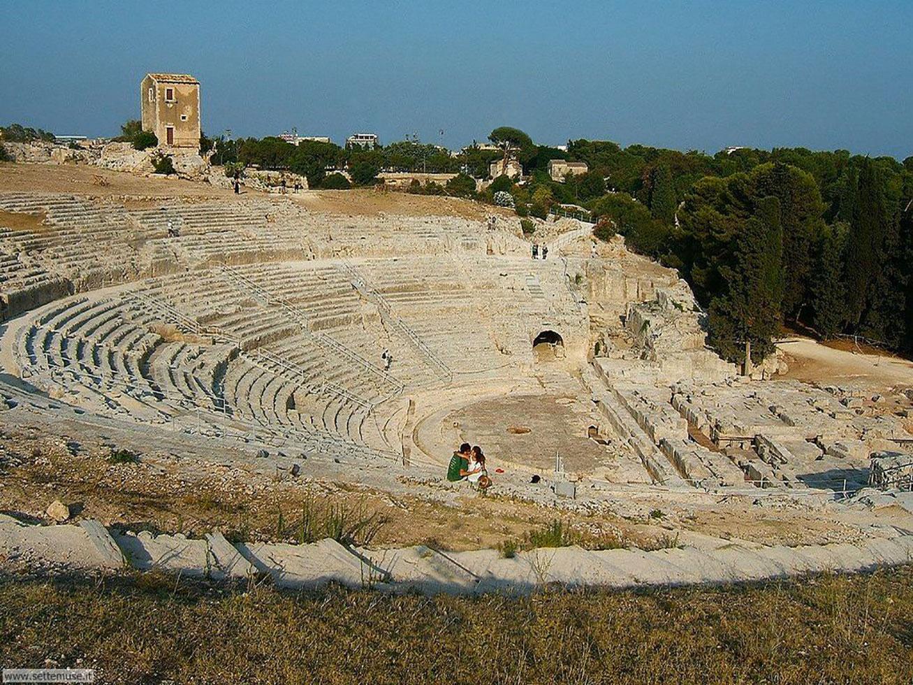 Siracusa, il teatro greco