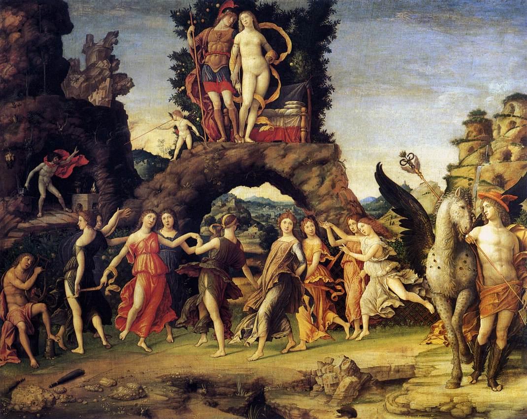 Apollo e le Muse risiedevano sul Parnaso
