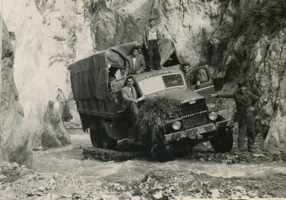 Il lupo del fiume nel dopoguerra a Montebello