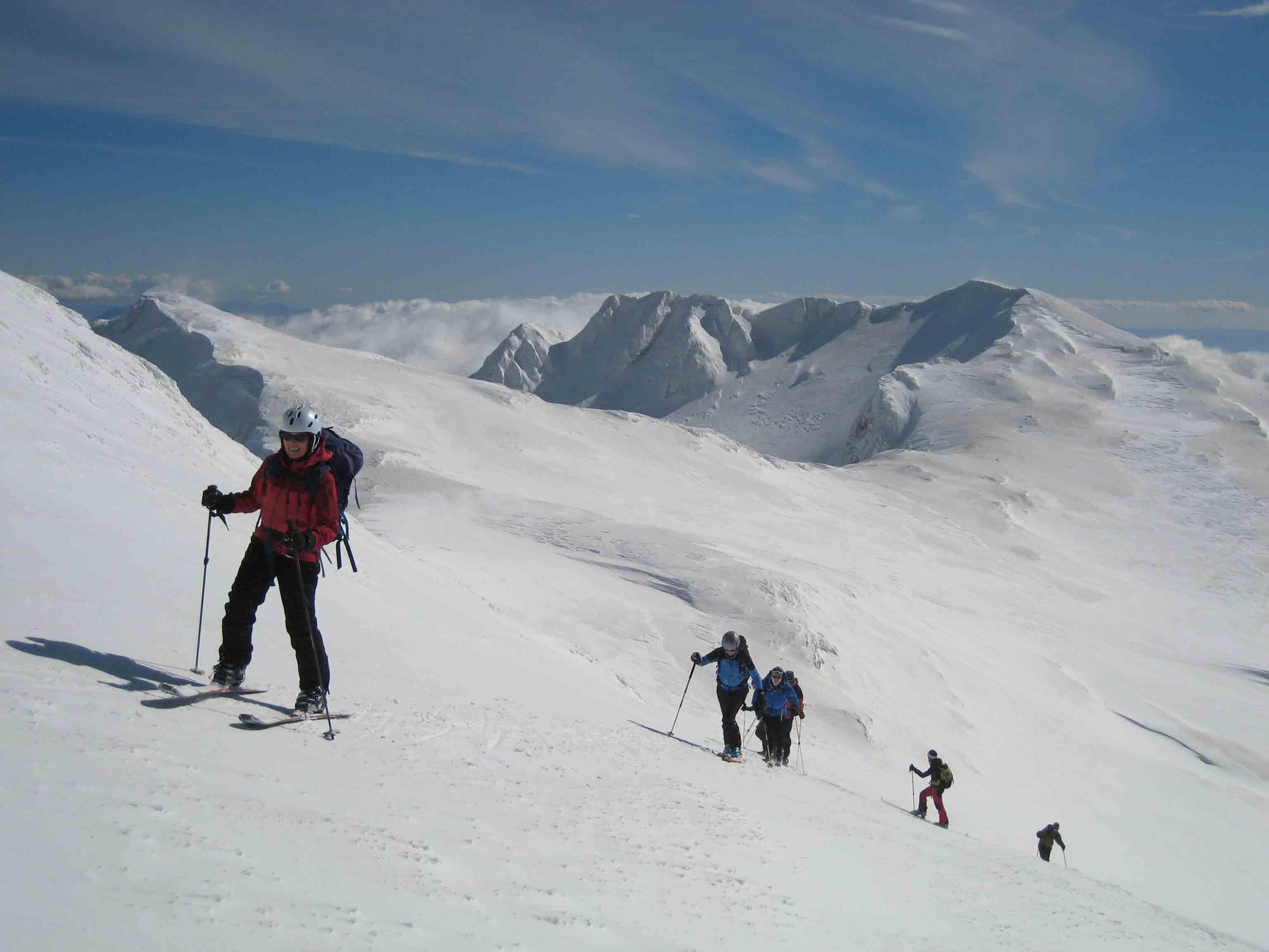 Sci alpinismo sulle vette del Parnasòs