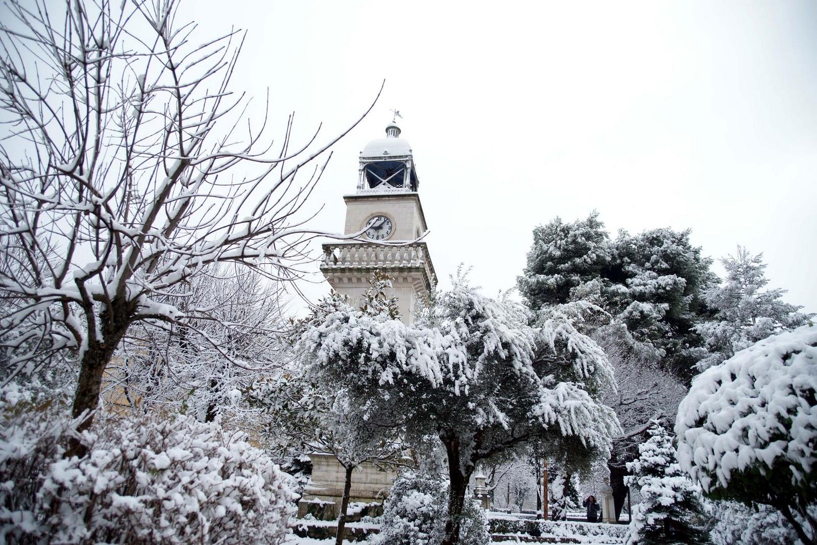 Scorcio di Ioannina innevata