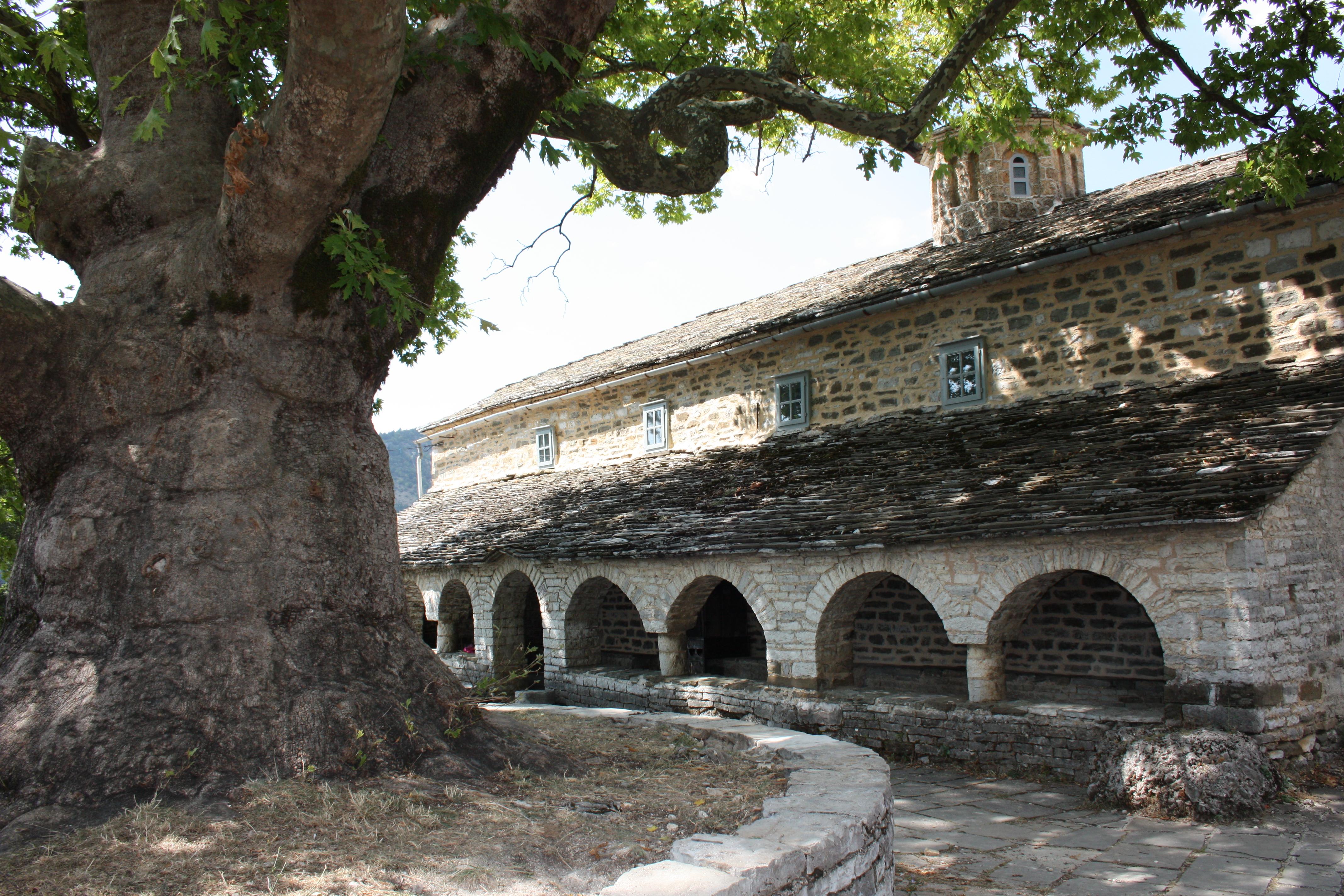 pindo vikos aoos monastero