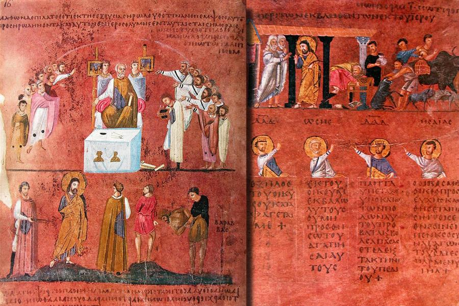 Codex-Purpureus-Rossanensis-
