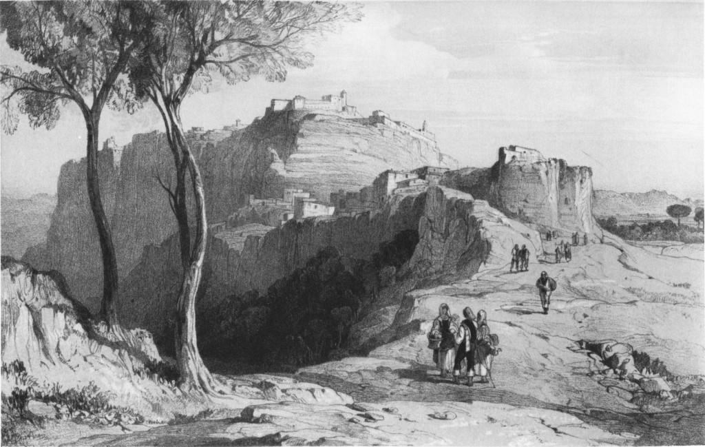 Gerace Edward Lear 1847