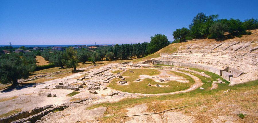 Locri Epizefiri Teatro Greco