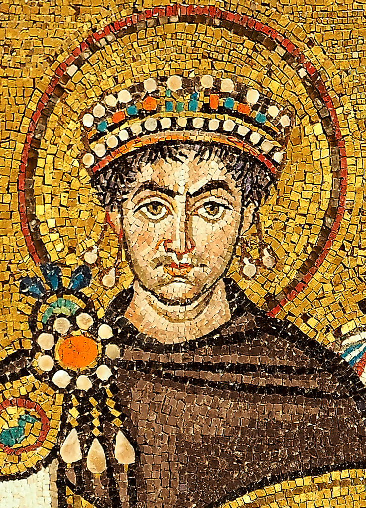 mosaic of Justinian I (Ravenna)